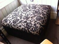 Large footstool