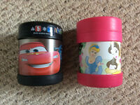 Cars and Princess Thermos® FUNtainer Food Jars