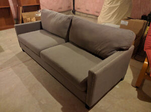 Grey Fabric Couch