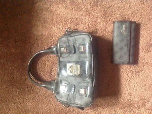 Guess purse grey and matching wallet