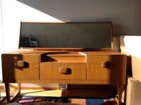Scandinavian type dressing table with mirror