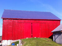 Barn and Church,  Residential Painting
