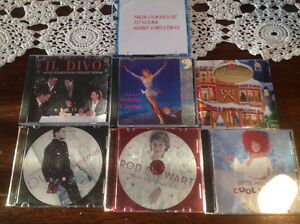 CHRISTMAS SONGS C.D.'S- 7 ASSORTED USED C.D.'