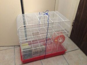 Small Animal Cage With Three Levels