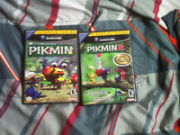 Pikmin 1 and Pikmin 2 Players Choice Gamecube Bundle