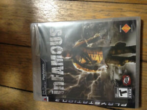 Infamous New/Sealed PS3