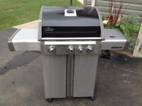 Napolean natural gas barbecue