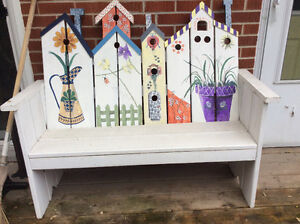 Outdoor furniture!  Great for the garden and decor!