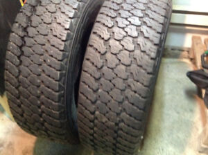 4 pneus d'hiver Goodyear Wrangler