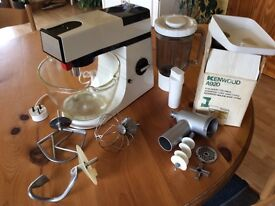 Old style Kenwood mixer and attachments