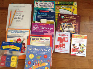 Writing resources for teachers