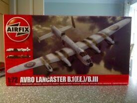 Airfix Model Kit: 1:72 Avro Lancaster B.1(F.E.)/B.III --- BOX UNOPENED --- AS NEW