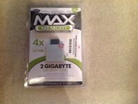 Memory card for xbox