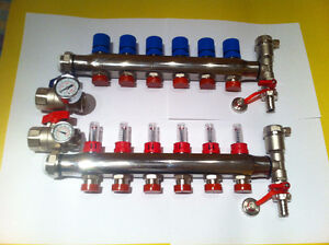 Hydronic Infloor Manifolds