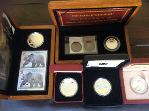 Amazing silver coin collection and rare coin sets-all silver Peterborough Peterborough Area image 1