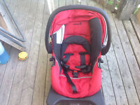 Rear facing safety first car seat