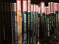 Lot Marvel comic book graphic novel hardcover