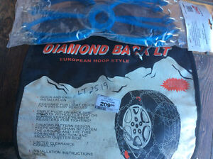 Tire Chains (Truck, RV, Delivery Vehicles)