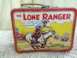 Vintage Lone Ranger Lunch Box Peterborough Peterborough Area image 1