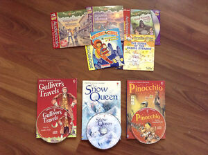 Usborne books with CD