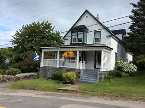 Unique Digby home, fully equipped for vacationers.