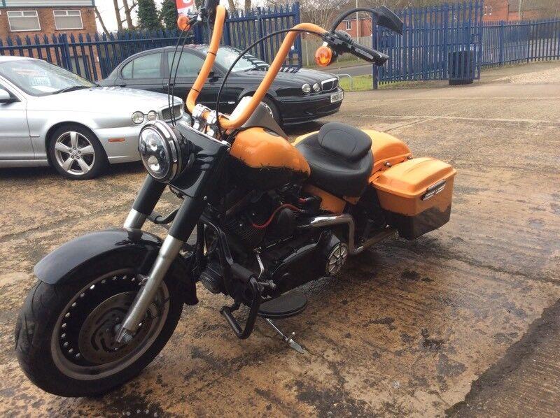 Ride Away Today Custom Harley Davidson Fat Boy Bagger 2011 Not Bobber Chopper