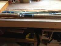 Geoffrey bucknall 16ft salmon fishing fly rod