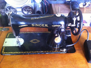 Singer sewing machine 1948/1954
