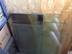 Glass Shelving  & 2 Mirrors—6 Pieces for $6