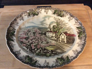 Assiette de collection Johnson Bros collective plate