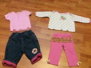 Baby Girl Clothing, size 0-3 months