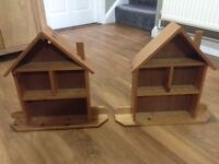 Wall Display cabinet (house shaped)