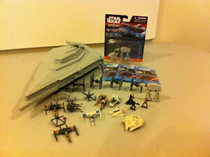 Star Wars Micro machines Star Destroyer with extra stuff