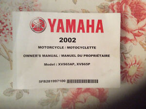 2002 Yamaha Manual