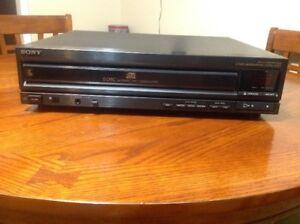 Sony 5 Disc CDP-C500 CD Changer