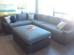 Bretton Sectional 5-pc Set, SUNBRELLA (MSRP: $5995)