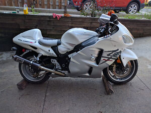 2006 Special Edition Pearl White Hayabusa