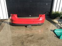 Ford Focus rear bumpers