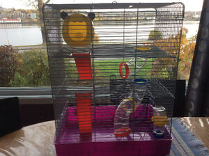 Cage hamster