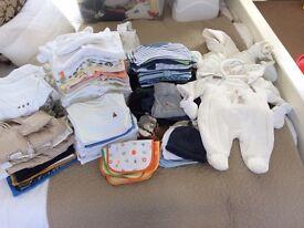 Newborn, 0-3 complete baby boy clothing set