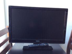 "Toshiba 23"" TV / DVD combi : HD"