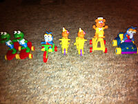 Vintage Collectable Muppet Babies PVC Figurines