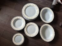 Wedgewood blue plates