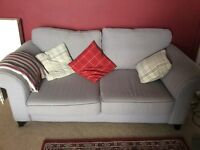 Three seater sofa bed and Two seater sofa