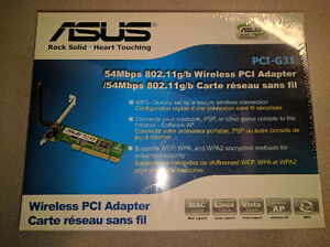 Asus PCI WIreless Card for Desktop Computer