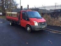 Ford Transit 2009 2.4tdci dropside pickup tail lift recovery