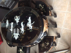 Table de style chinoise