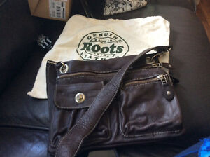 New leather roots bag