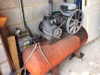 Single phase air compressor