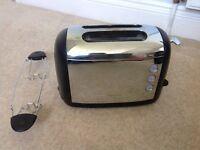 Kenwood chrome 2 slice toaster